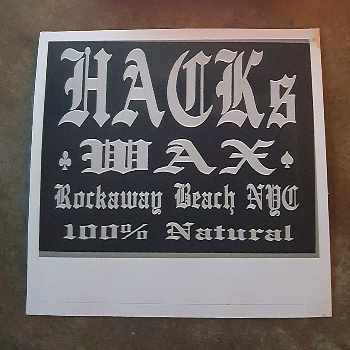 Hack's Wax Sticker